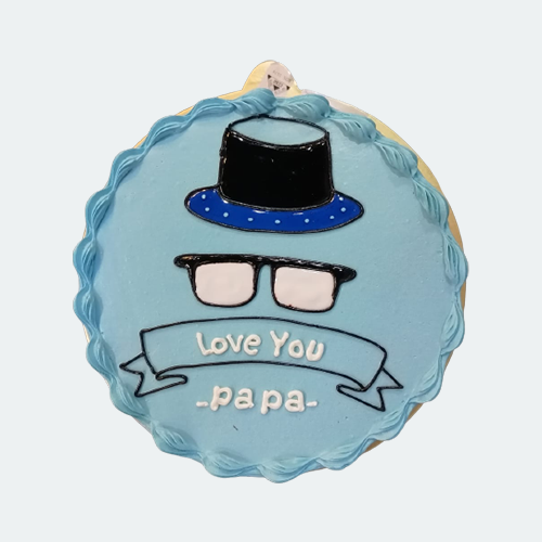 Fathers Day Special Vanilla Cake-2-600gm
